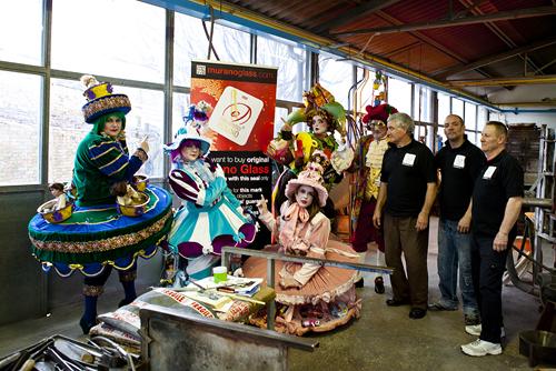Le maschere vincitrici del Carnevale 2013 a Murano