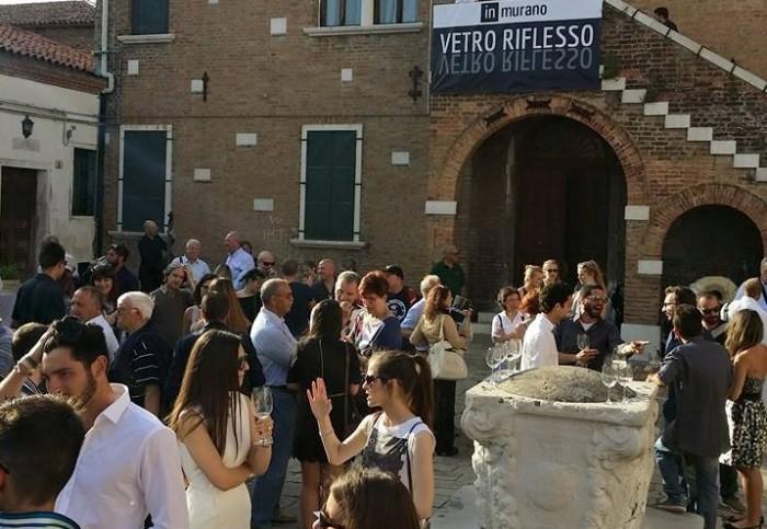 In Murano – Inaugurazione della mostra