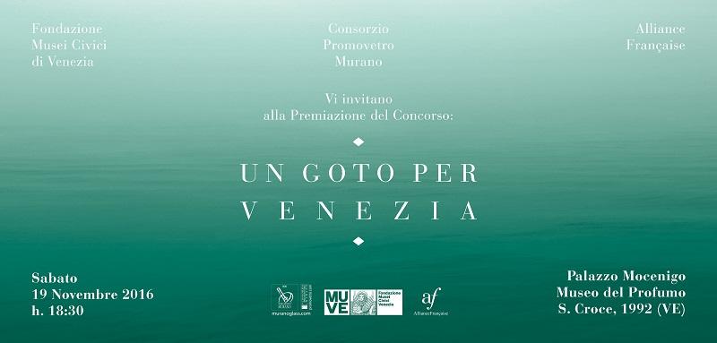 Un Goto Per Venezia 2 ed – Premiazione del vincitore