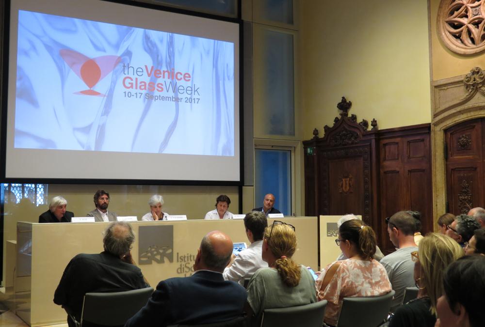 Presentazione della The Venice Glass Week