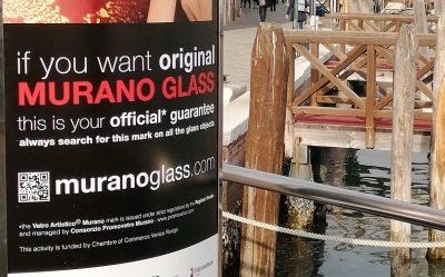 The new advertising campaign of the Vetro Artistico® Murano trademark has started in Venice