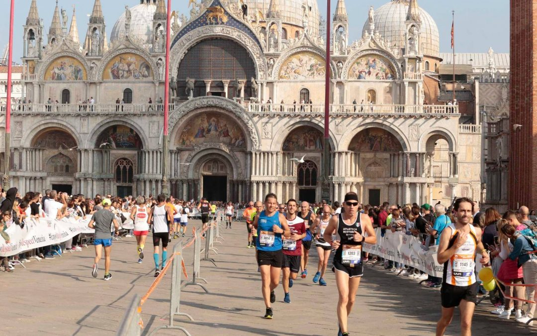 Murano glass at the Venicemarathon