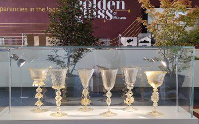 Golden Glass of Murano: una mostra di manufatti in vetro e oro a Vicenzaoro